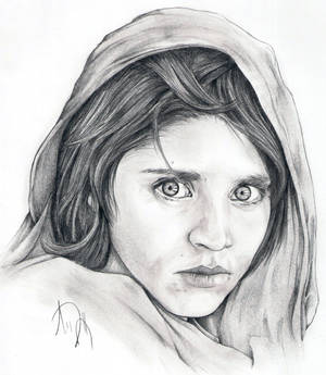 Steve McCurry's Afghan Girl