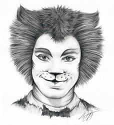 Mr. Mistoffelees Cats Sketch by Skimbleshanks2