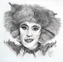 Bombalurina Portrait 2 by Skimbleshanks2