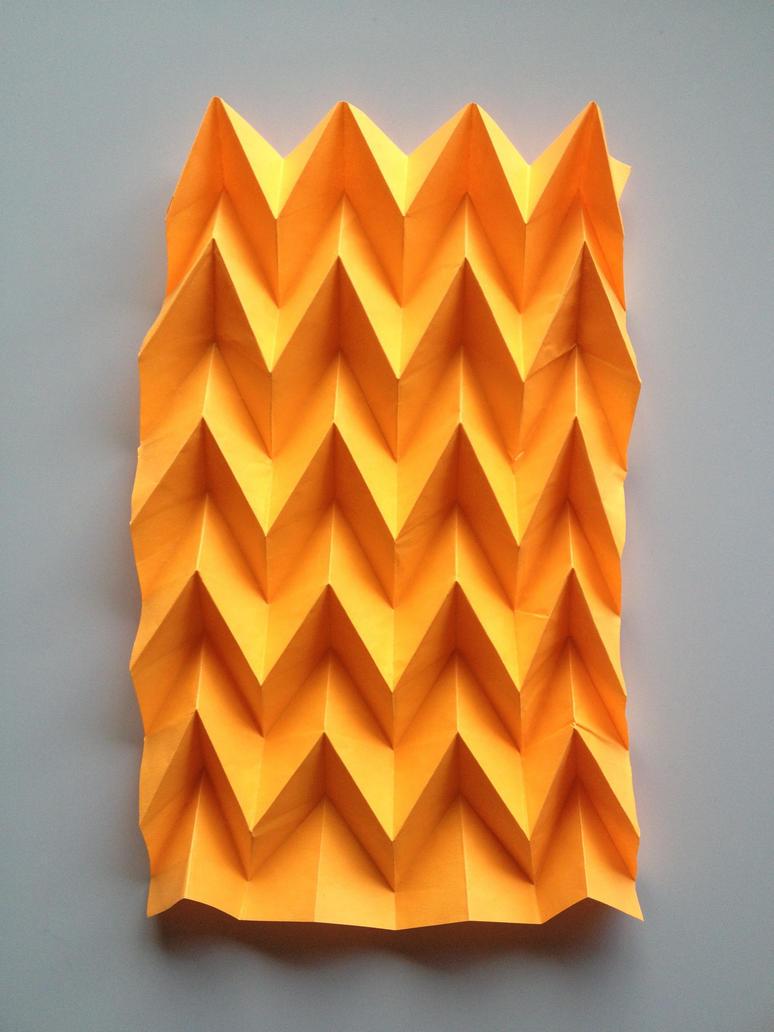 orange basic miura- Ori by Fragdraw