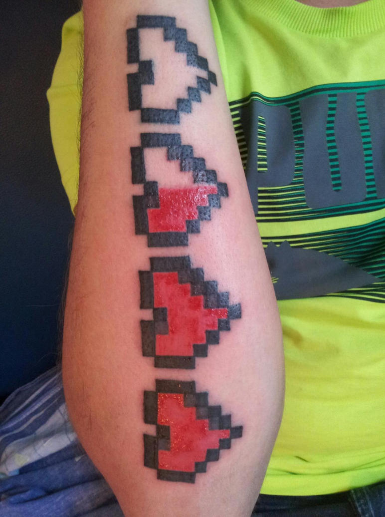 Healthbar Tattoo by Danny-theOne on DeviantArt