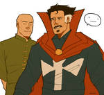 Doctor Strange and Wong by AlexPDCL