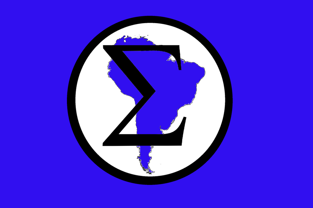 Integralist Union of South America flag by RoboticAnarchist