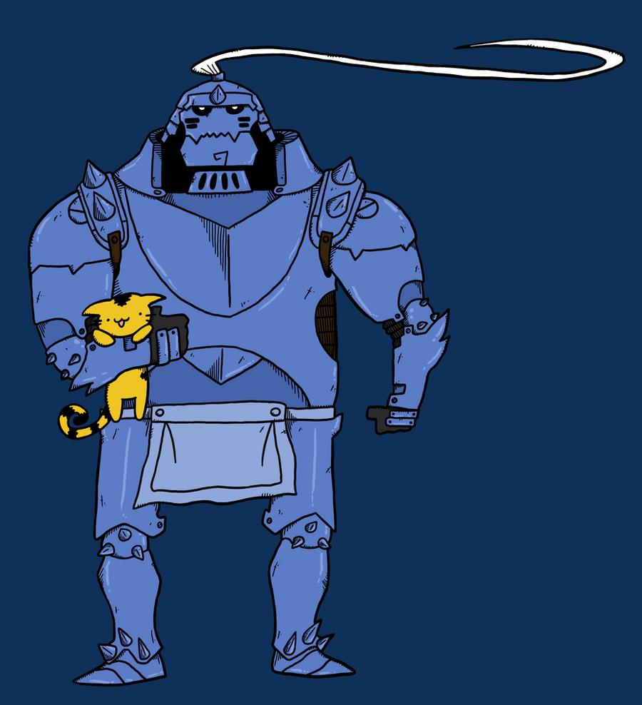 Fullmetal Alchemist Alphonse by Josprens on DeviantArt