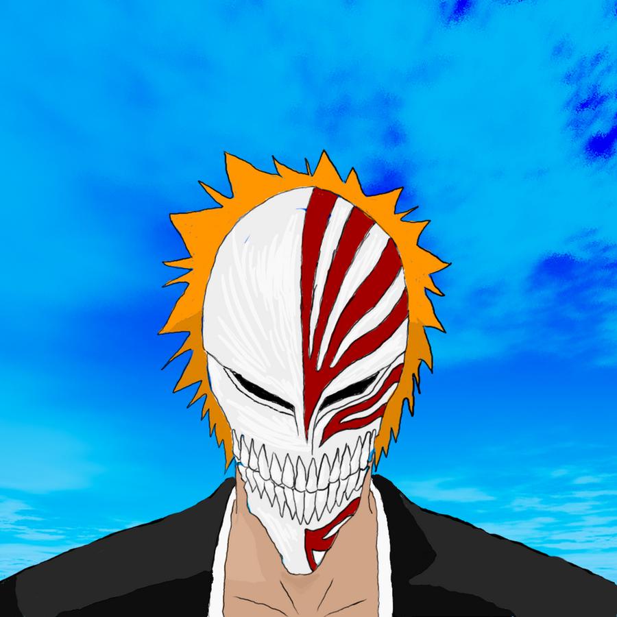 Hollow Ichigo, First Showing By PrinceSparkle On DeviantArt