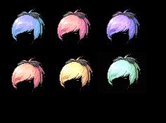 Mixed hair-Fresh start by JenniLols