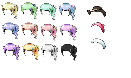 Ponytails by JenniLols