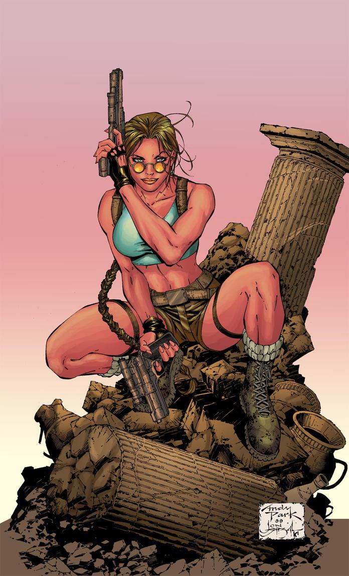 Lara Croft by kakapunkcool