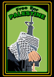 Free For Palestine by rainattack