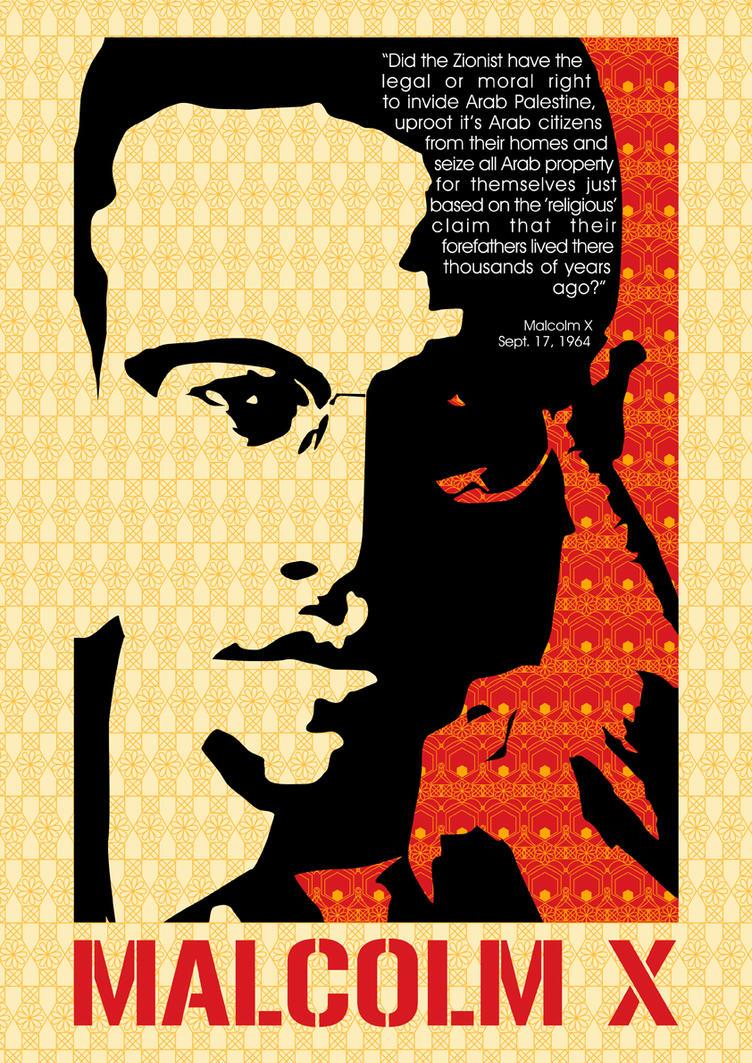 Malcolm X By Rainattack