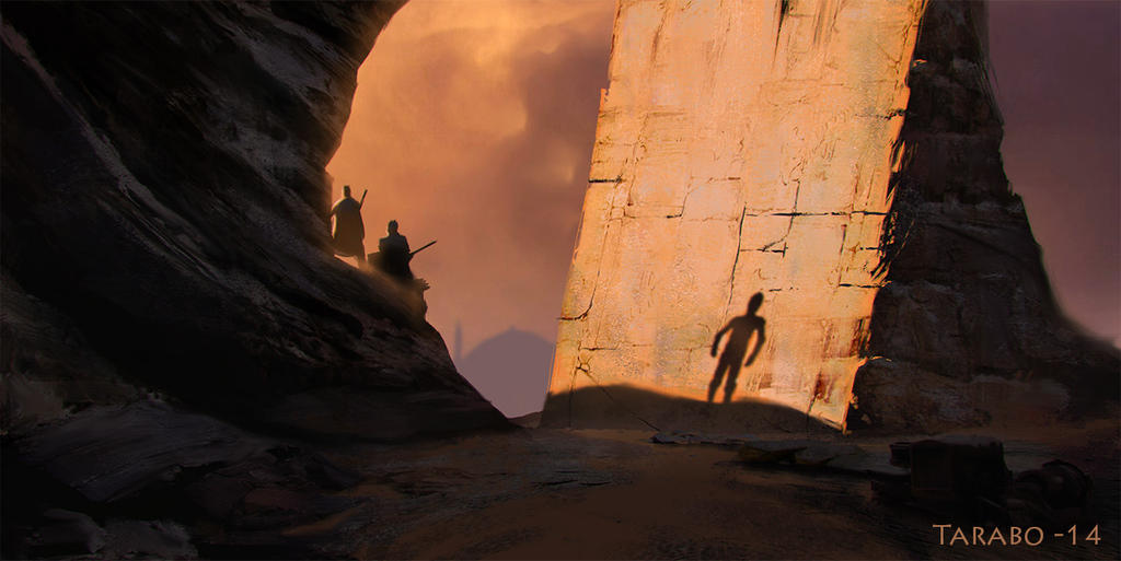 The Assault of the Sand People by DavideTarabo