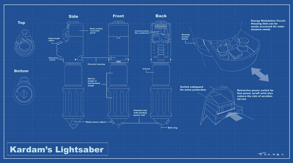 Sw animated film kardams lightsaber blueprint by davidetarabo on sw animated film kardams lightsaber blueprint by davidetarabo malvernweather Image collections