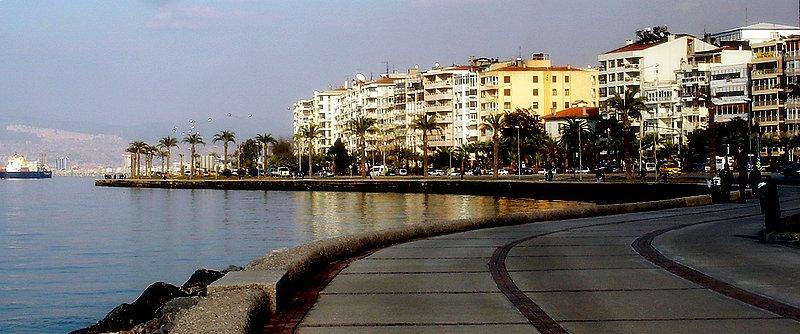 Σμύρνη Izmir smyra Seafront