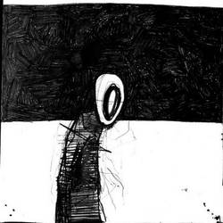 One sad person by dincbilek