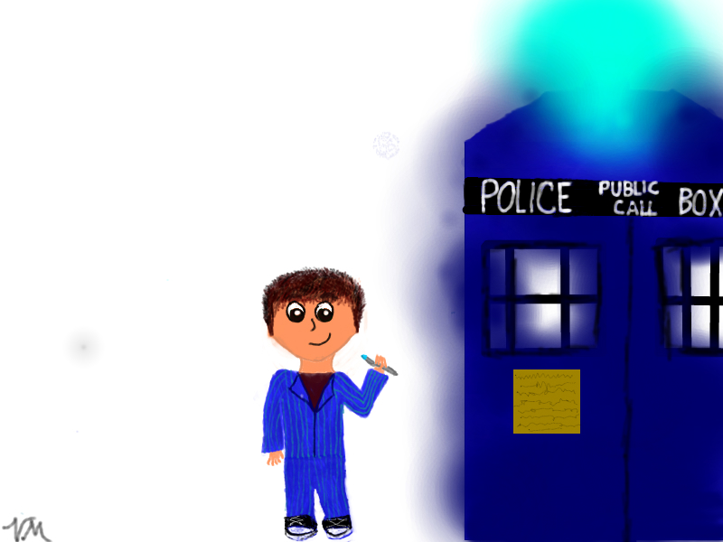 The Tenth Doctor by ghostlykitteh