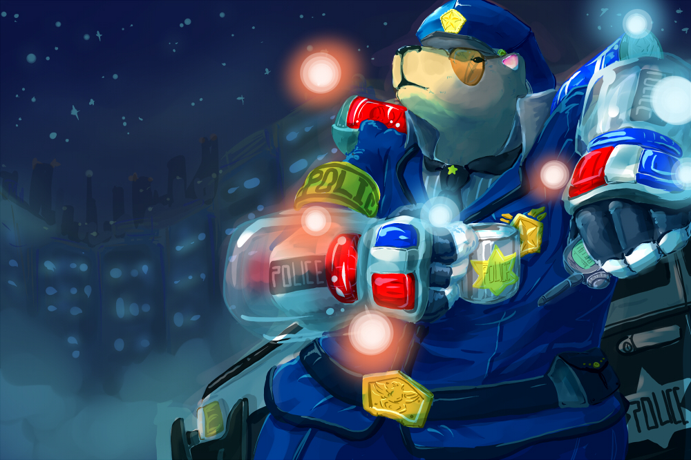 [LOL]officer Volibear by JeRuStar