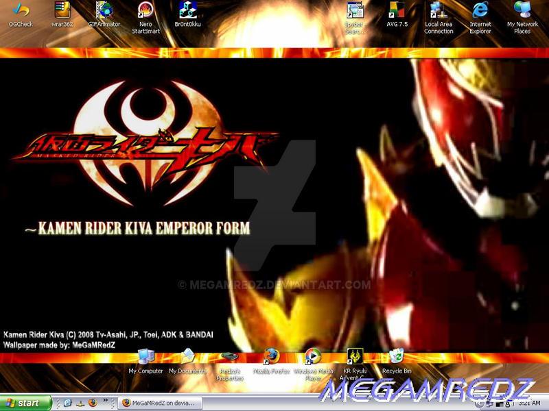 2008 MeGaMRedZ's Desktop 2 by MeGaMRedZ