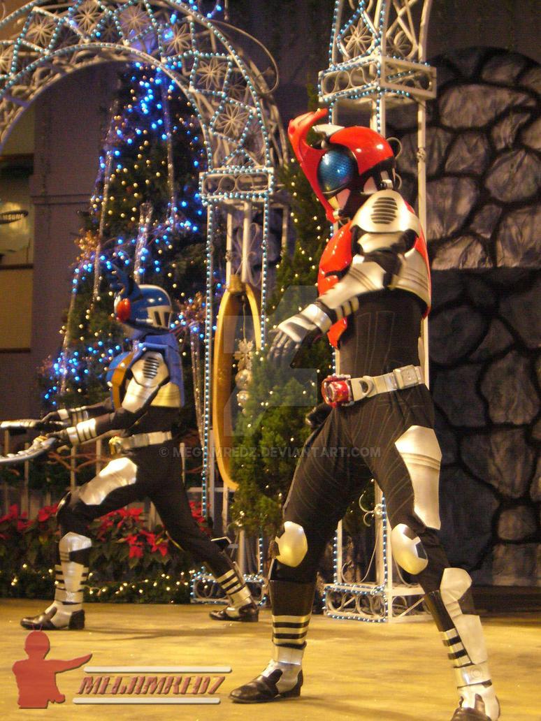 Masked Rider Kabuto + Gatack 2 by MeGaMRedZ