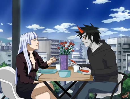 Awkward first date