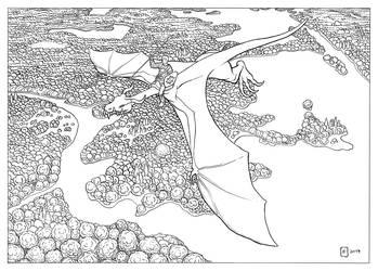 Dragon Inks by benlukaserekson