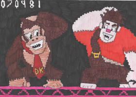 Wreck It Kong by DelphiniumFleur
