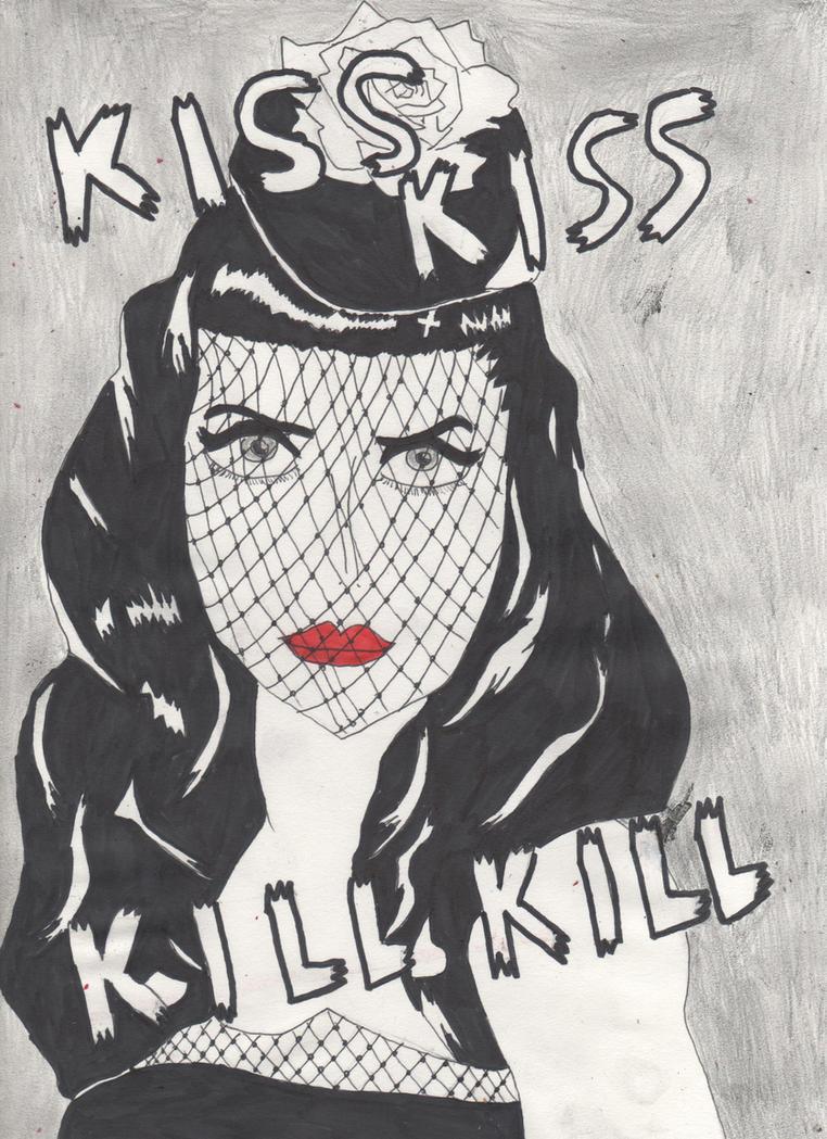 Kiss and Kill by DelphiniumFleur