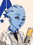 Mass Effect Portrait Series #2 - Liara T'Soni