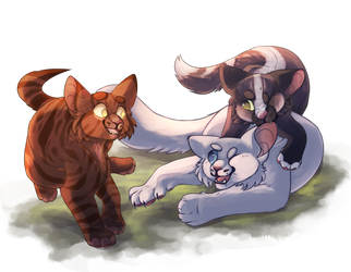 Do Kits Still Play in StarClan? by CatsPajamas-PJ