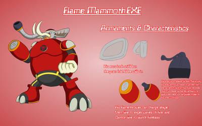 Flame Mammoth.EXE (VI) by BGMaxie