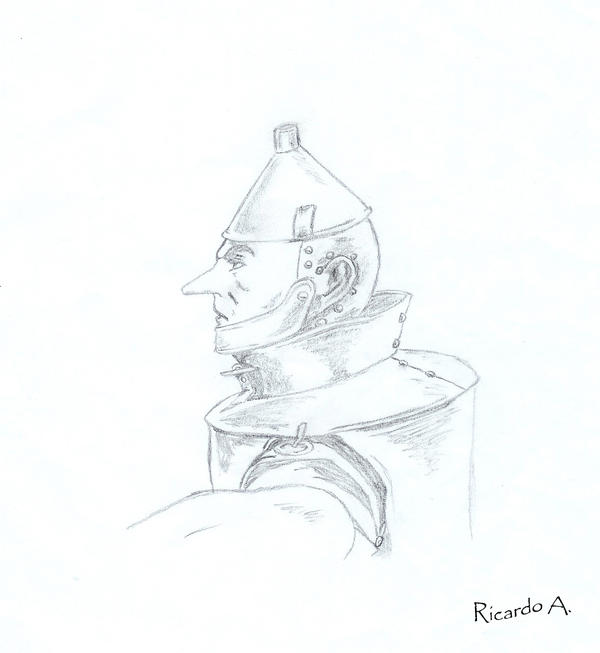 Tin man Sketch by rikrdoart
