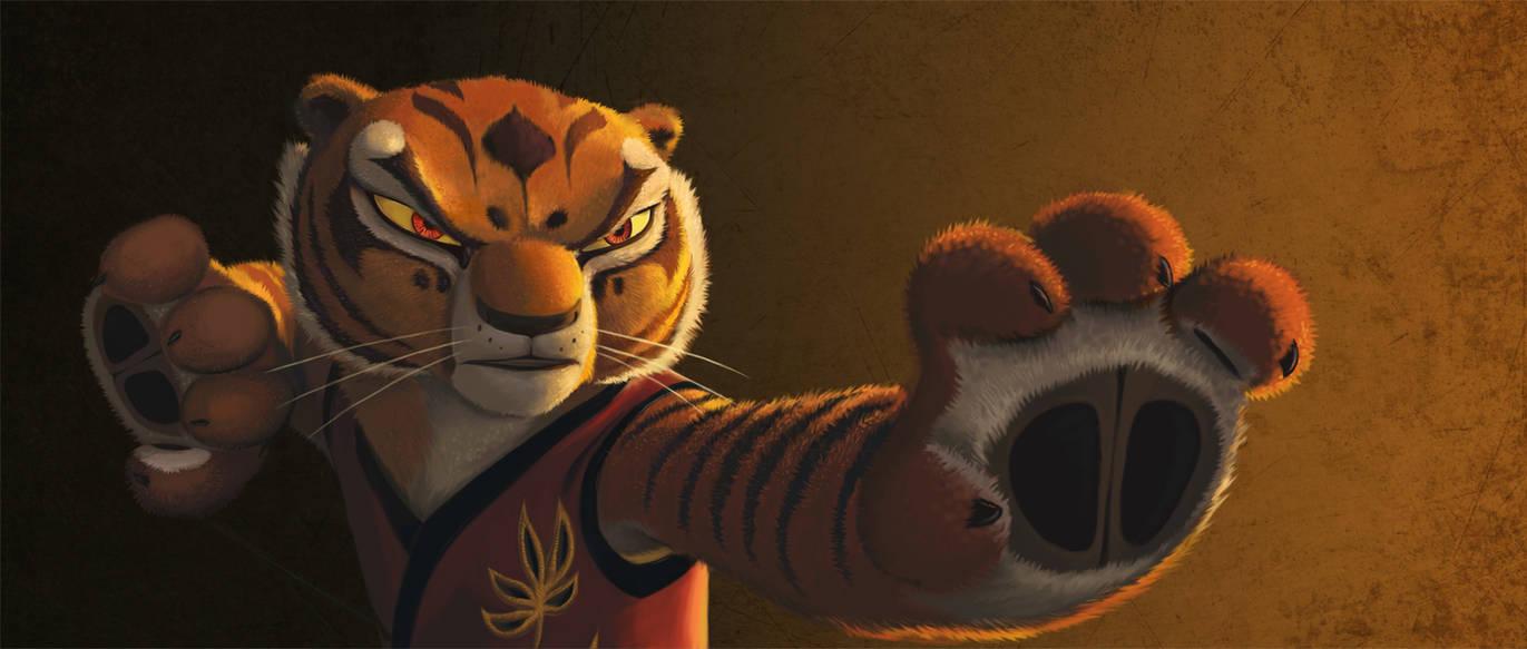 Kung Fu Panda - Tigress by StasySolitude