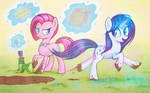 Character switch: Pinkie - Rarity