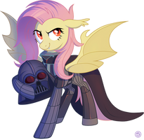 Flutterbat as Darth Vader by StasySolitude