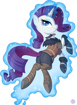 Rarity as Yennefer