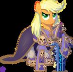 Applejack as Arthas the Lich King