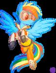 Rainbow as Tracer