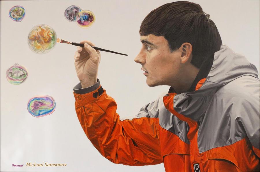 Self-portrait by MSamsonov