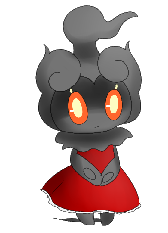 Marshadow In A Dress By Foolishlayde On Deviantart