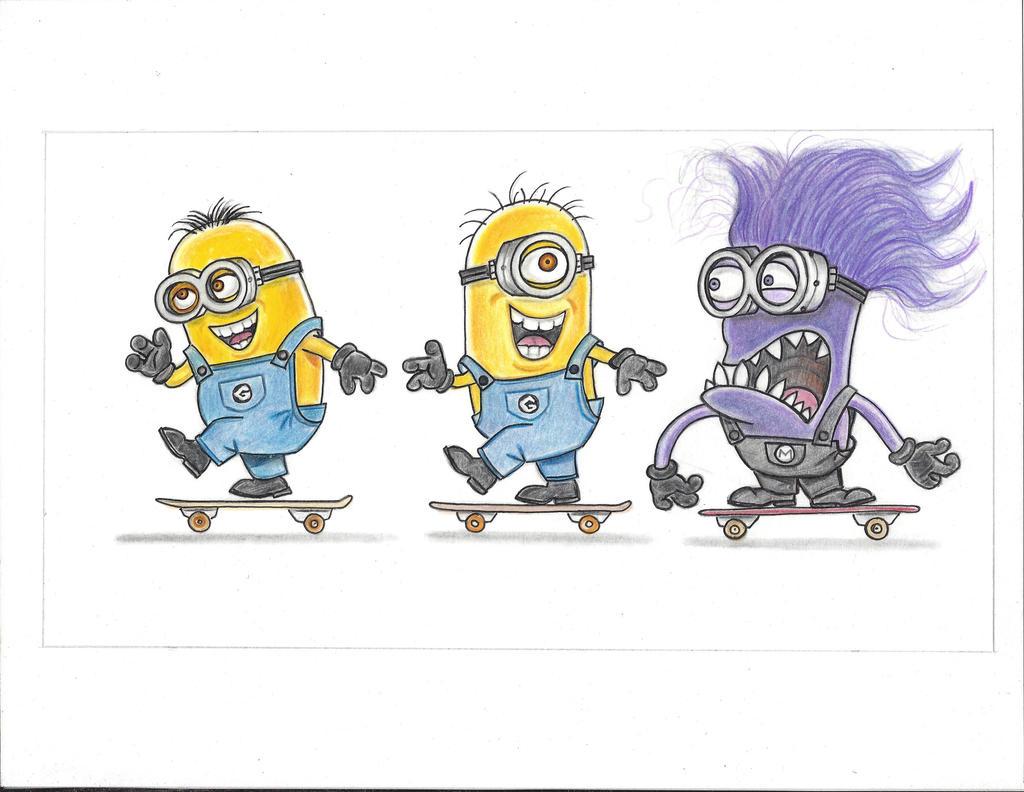tag team skaters. by vinnyvandoodle