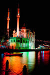 colors of ortakoy mosque