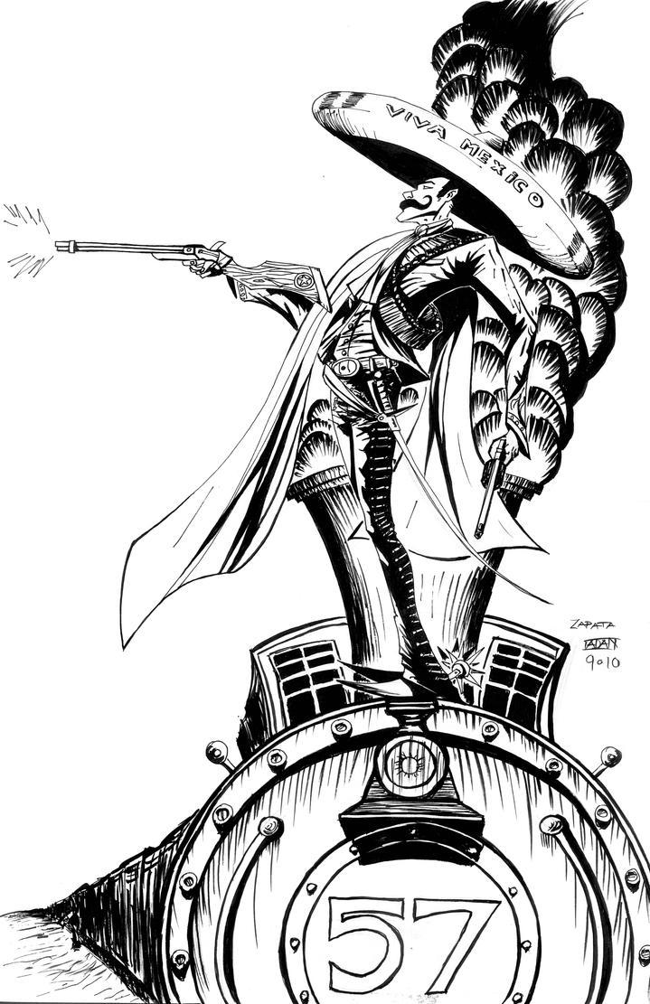 Mirar como Zapata by AdanFlores on DeviantArt