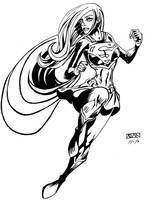 Supergirl by AdanFlores