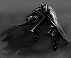 Batman Value Sketch by AdanFlores