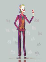 The Joker 2019 by AdanFlores