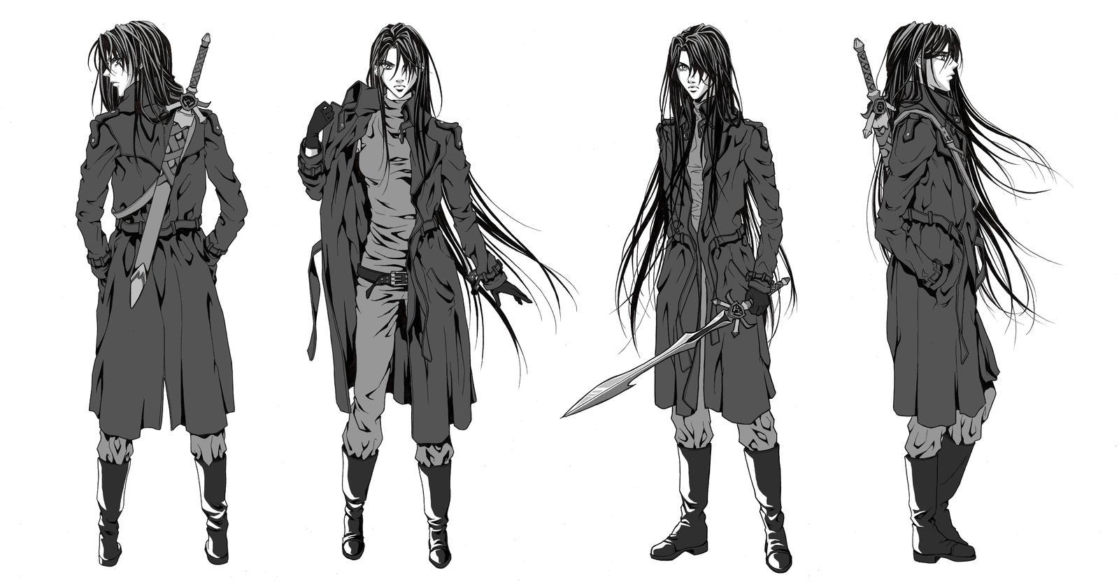 Anime Character Design Sketch : Character sketches by zanariya on deviantart