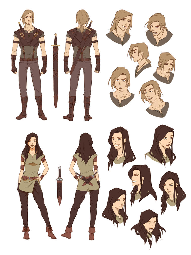 Coolest Anime Character Design : Character designs by zanariya on deviantart