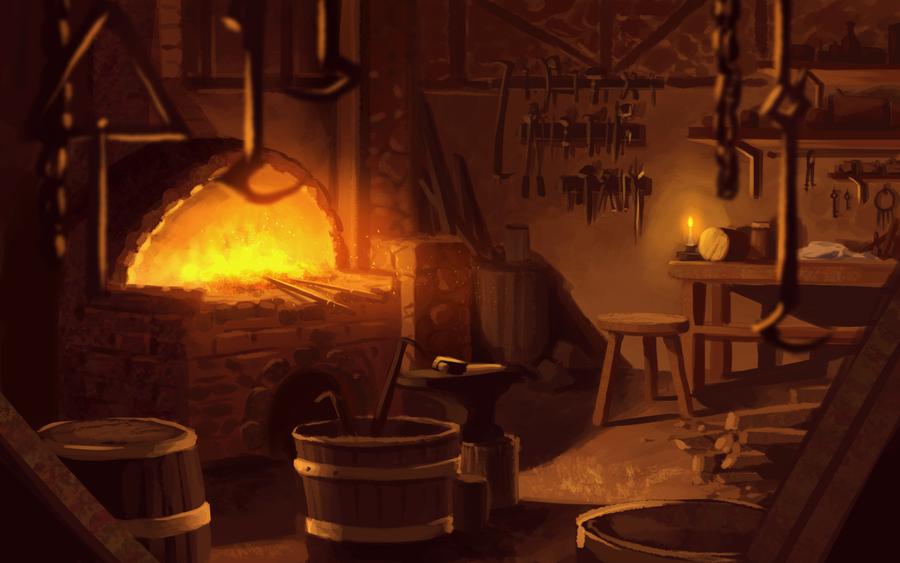 Smithery Creation [200,000 J] Blacksmith_s_shop_by_zanariya-d6twt7b