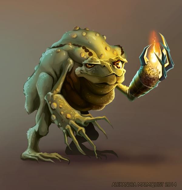 Creature Design by Zanariya