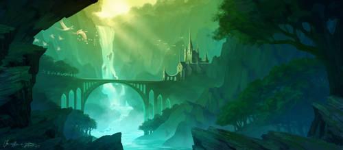 River Castle by Zanariya