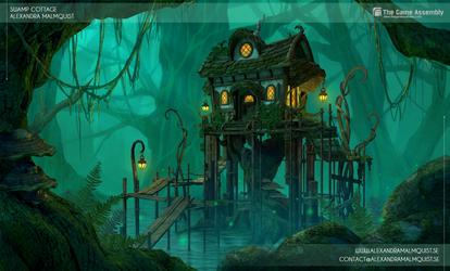 Swamp Cottage 3D by Zanariya